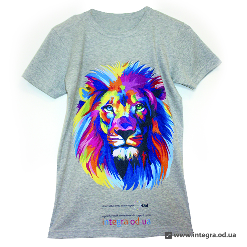 полноцветная печать на футболках